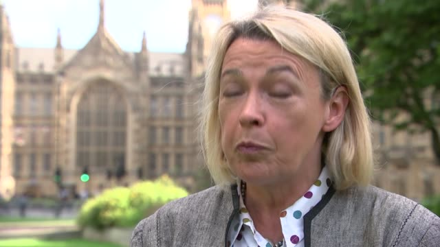 government announces expansion of mental health services westminster ext barbara keeley mp interview sot - richard pallot stock-videos und b-roll-filmmaterial