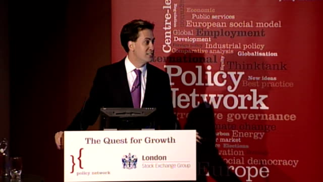 government announces planning reforms aimed at boosting construction industry london stock exchange int ed miliband mp speech sot ed balls mp... - börse von london stock-videos und b-roll-filmmaterial