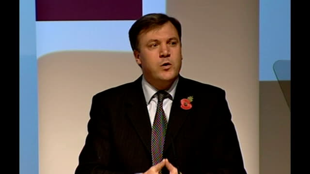 vídeos y material grabado en eventos de stock de government announces plans to raise school leaving age and tackle neets; london: int ed balls mp press conference sot - if young people fail to take... - new age