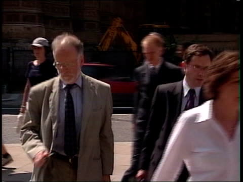 government apologise to kelly widow over walter mitty slur itn dr kelly along to foreign affairs committee meeting - widow stock videos and b-roll footage