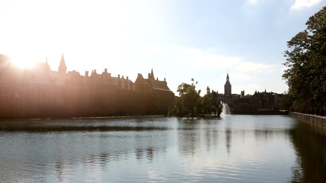 government buildings in the hague - binnenhof stock videos and b-roll footage