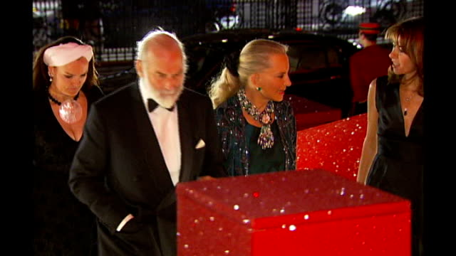 government considers changes to act of succession london prince and princess michael of kent arriving for function - princess michael of kent stock videos and b-roll footage