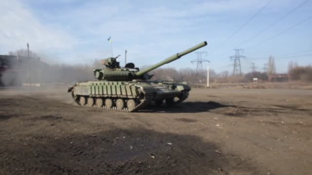 "government forces and separatists in eastern ukraine have agreed on a plan to withdraw heavy weapons, according to ukrainian military sources.""an... - spokesman stock videos & royalty-free footage"