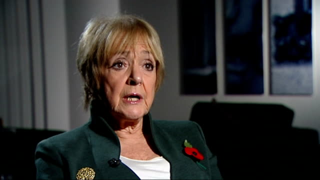 government helplines attacked for using higher rate telephone numbers england london westminster int margaret hodge mp interview sot outrageous we... - マーガレット・ホッジ点の映像素材/bロール