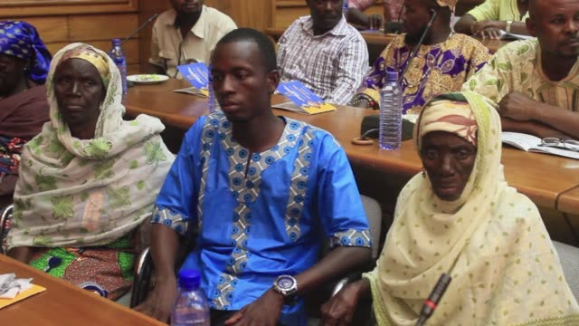 government officials and ngos meet to consider ways of protecting those in the north of ghana accused of witchcraft and in fear for their lives - witch stock videos & royalty-free footage