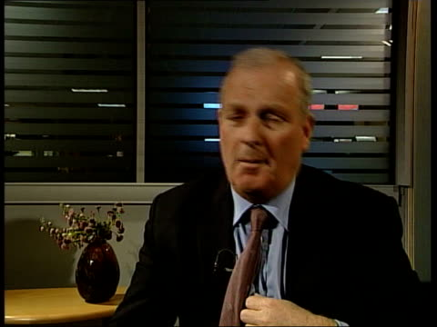 government outlines future plans for the bbc kelvin mackenzie interviewed sot criticises bbc spending tax payers' money uneven playing field - uneven stock videos & royalty-free footage