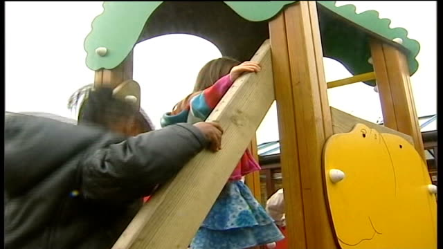 government plan to cap cost of nursery education causes controversy date cutaway nursery school children playing on a slide int cutaways nursery... - finger painting stock videos and b-roll footage