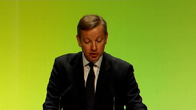 government plans for academies to take over 200 schools in england: michael gove speech; gove speech sot - in last year's white paper we took a... - new zealand culture stock videos & royalty-free footage