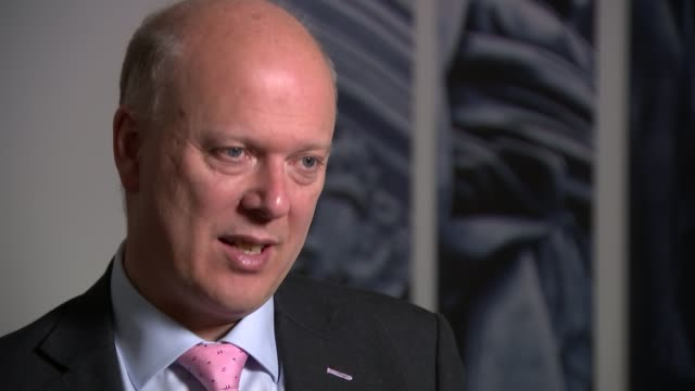 government plans for private companies to take over rail lines comes under fire; london: chris grayling mp interview sot - people don't understand... - doing a favour stock videos & royalty-free footage