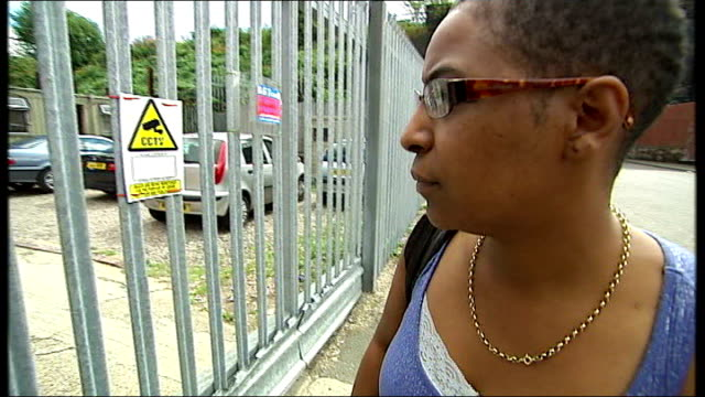 Government plans to make clamping on private land illegal / Wembley standoff ENGLAND Midlands Birmingham EXT Lorry driving confiscated car into...