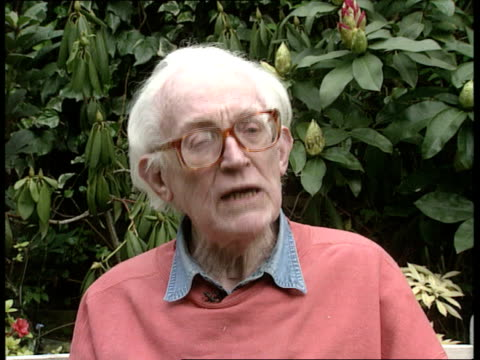 Government plans to scrap May Day bank holiday EXT Hampstead 2 SHOT Michael Foot intvwd SOT to abolish holiday is an insult to King Alfred because he...