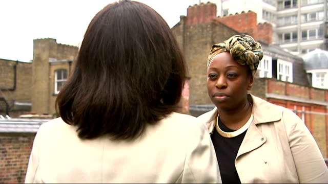 government plans to try to stop practice of female genital mutilation england london jay karmarafrederick interview sot cutaway reporter - mutilazioni genitali femminili video stock e b–roll