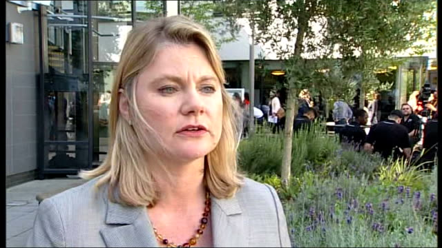 government plans to try to stop practice of female genital mutilation ext justine greening mp interview sot we can't have a britain where there are... - mutilazioni genitali femminili video stock e b–roll