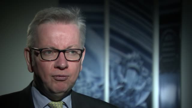 Government proposes tough new restrictions on ivory sales ENGLAND London Westminster INT Reporter sat with Michael Gove MP Reporter Michael Gove MP...