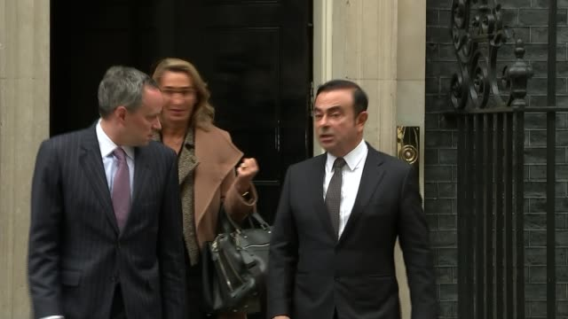 vidéos et rushes de government reveals some of the assurances given to nissan to ensure sunderland plant deal lib / carlos ghosn departing number 10 end lib - ghosn