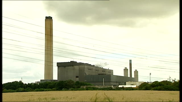government split on renewable energy lib didcot general views ofdidcot dualfired power station - didcot stock videos and b-roll footage