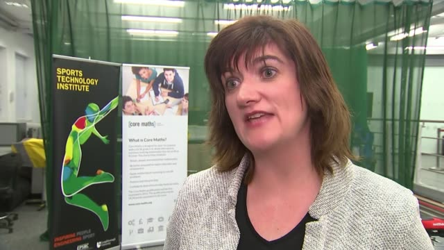government starts to backtrack on disability benefit cuts leicestershire loughborough loughborough university morgan talking to people during visit... - down jacket stock videos and b-roll footage