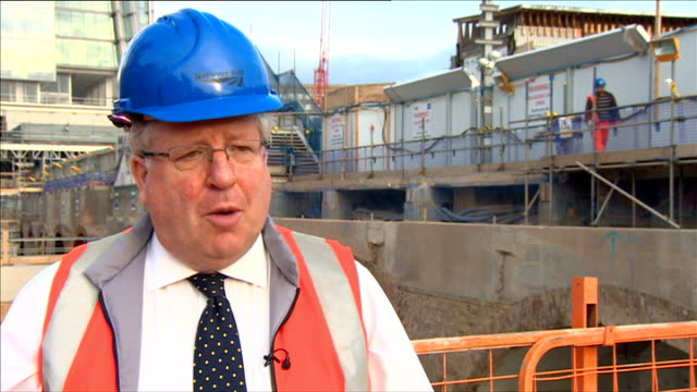government to impose new cap on rail fares london bridge ext patrick mcloughlin mp interview sot what we're announcing is a reduction on the amount... - patrick mcloughlin stock videos and b-roll footage