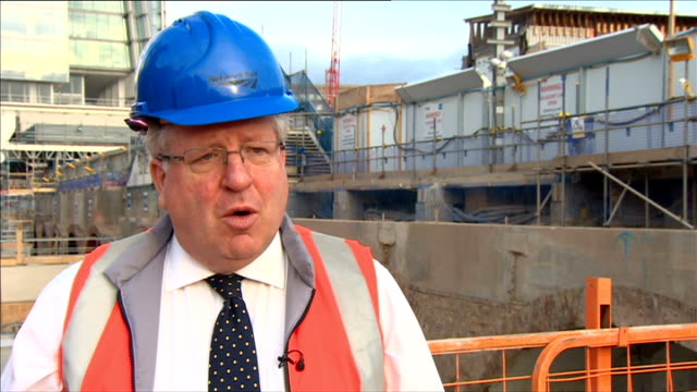 government to impose new cap on rail fares london london bridge ext patrick mcloughlin mp interview sot it will mean that they will be much more... - patrick mcloughlin stock videos and b-roll footage