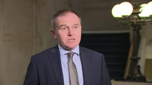 government to set 'legal duty' on water companies to combat raw sewage dumping; england: london: int george eustice mp interview sot on new... - channel 4 news stock videos & royalty-free footage