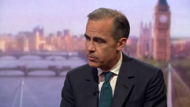 governor of the bank of england mark carney saying the issues around the eu referendum are far broader than what concerns the bank of england - communication stock videos & royalty-free footage