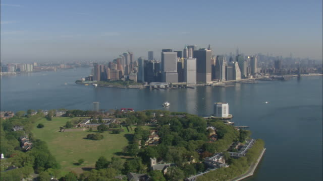 governor's island - long island video stock e b–roll