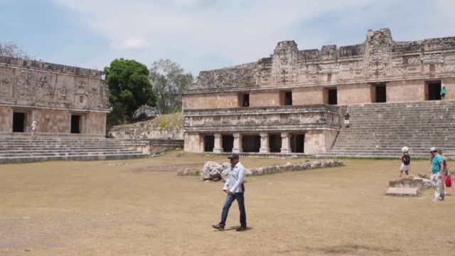 Governor's Palace . Uxmal. Mexico