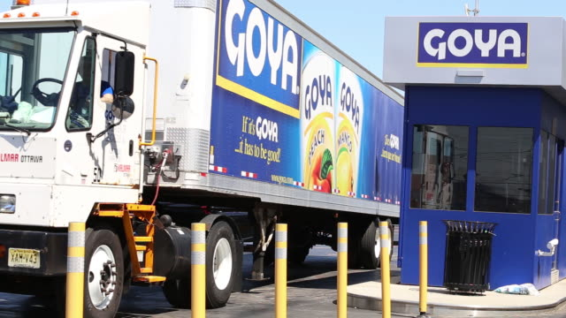 Goya production facility in Secaucus New Jersey and the warehouse in Jersey City New Jersey USA on Monday April 23 2018