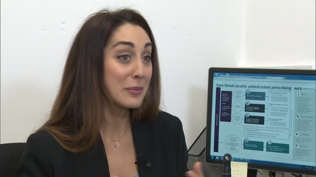 Gps Advised Not To Prescribe Antibiotics For Sore Throat London Dr Sara Kayat Setup Looking At