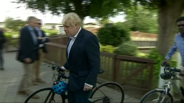 gps in england will be able to prescribe cycling to unfit patients under £2 billion scheme england nottinghamshire beeston ext boris johnson mp... - nottinghamshire stock videos & royalty-free footage
