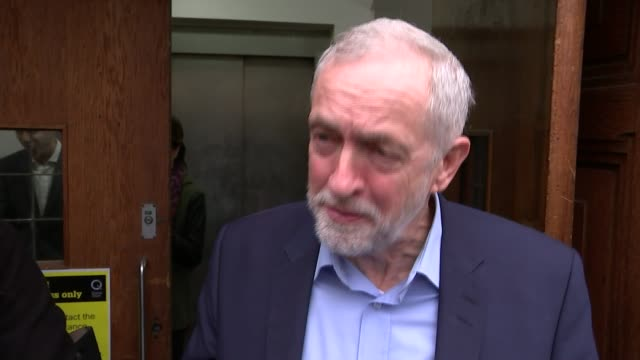 gps urged to extend opening hours to reduce pressure on ae departments fabian society jeremy corbyn mp along to podium jeremy corbyn mp giving speech... - symptom stock videos and b-roll footage