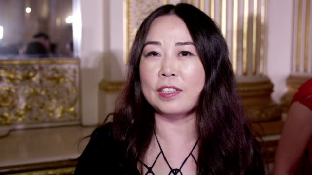 Grace Chen talks about her Simply Divine collection after catwalk show that took place at Lancaster House London on June 11 2016