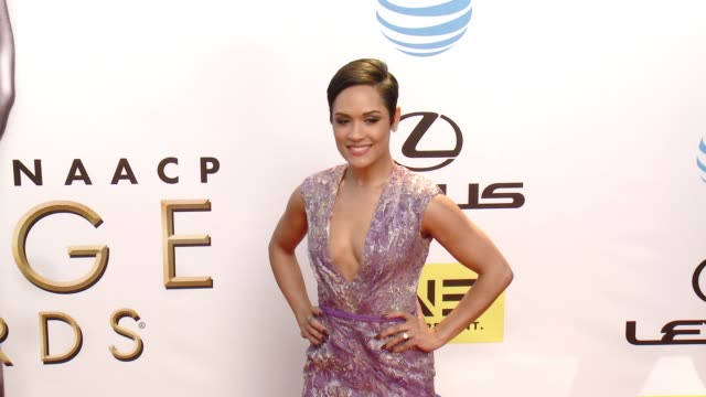 Grace Gealey at 47th Annual NAACP Image Awards at Pasadena Civic Auditorium on February 05 2016 in Pasadena California