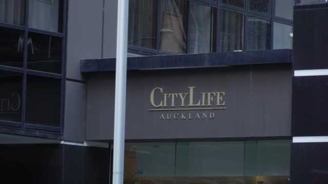 Jacinda Ardern apologises to British backpacker's family / suspect appears in court NEW ZEALAND Auckland EXT General view of CityLife Hotel Sign...