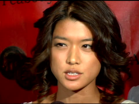 grace park of 'battlestar gallactica' at the 65th annual peabody awards at the waldorf astoria hotel in new york, new york on june 5, 2006. - waldorf astoria new york stock videos & royalty-free footage