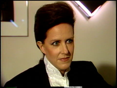 grace slick at the grammy awards party by rca at an expensive, crowded restaurant on september 20, 1987. - rca stock videos & royalty-free footage