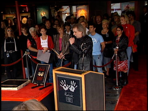 Grace Slick RockWalk at the Grace Slick Rockwalk at Guitar Center in Hollywood California on October 22 2002