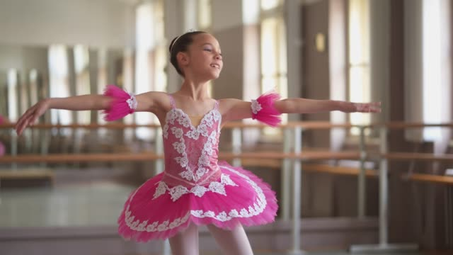 graceful young ballerina - skill stock videos & royalty-free footage