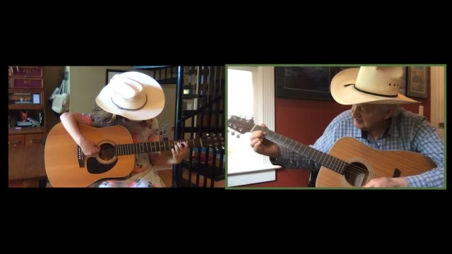 gracious grandfather gives his granddaughter a guitar lesson via video call (audio) - learning stock videos & royalty-free footage