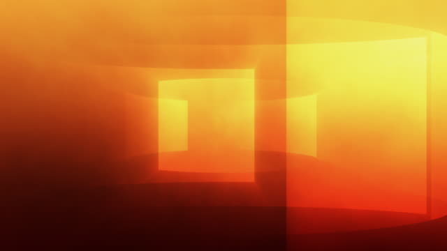 Gradient Turbine Background Loop Orange