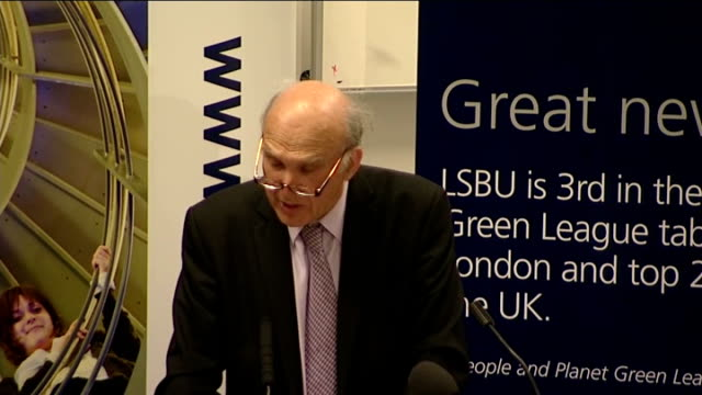 graduate tax may replace current university tuition fees: vince cable speech; vince cable speech sot - it is also important that the elite... - pros and cons stock videos & royalty-free footage