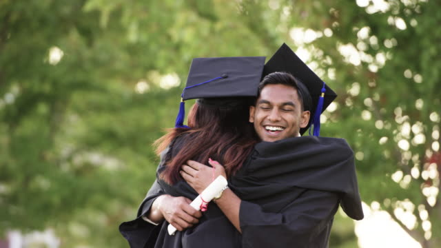 graduating together - university stock videos and b-roll footage