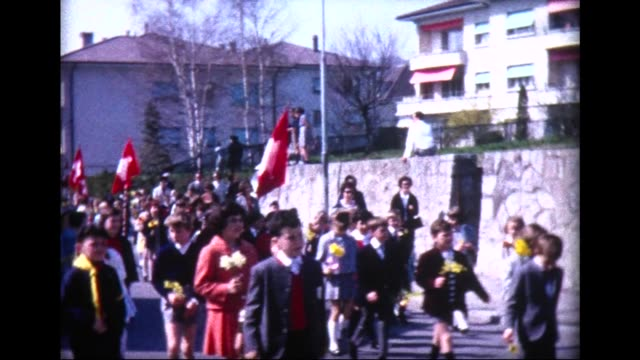 1965 graduation in lausanne - 8 9 jahre stock-videos und b-roll-filmmaterial