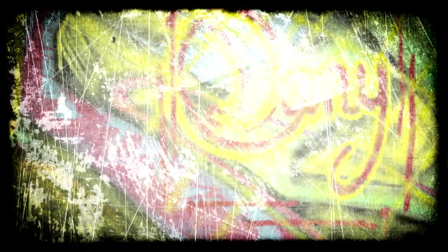 graffiti grunge. hd - graffiti stock videos & royalty-free footage