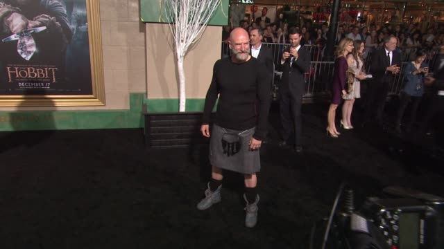 "graham mctavish at ""the hobbit: the battle of the five armies"" los angeles premiere at dolby theatre on december 09, 2014 in hollywood, california. - the hobbit: the battle of the five armies stock videos & royalty-free footage"