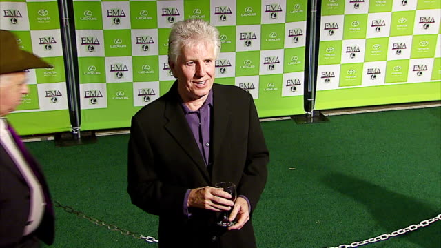 graham nash at the 16th annual environmental media awards at ebell theater in los angeles, california on november 8, 2006. - environmental media awards stock-videos und b-roll-filmmaterial