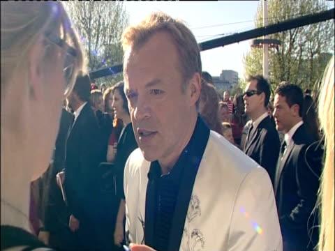 graham norton talks to press at british academy television awards including london 26 april 2009 - graham norton comedian stock videos & royalty-free footage