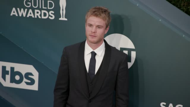 graham rogers at the 26th annual screen actors guild awards arrivals at the shrine auditorium on january 19 2020 in los angeles california - shrine auditorium stock videos & royalty-free footage
