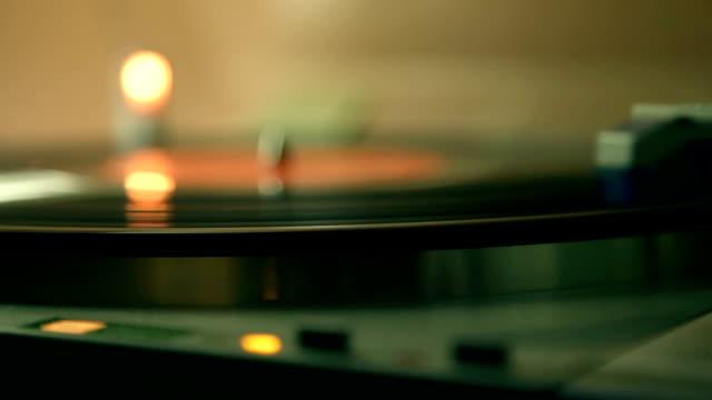 Gramophon ou de Platine de disque vinyle