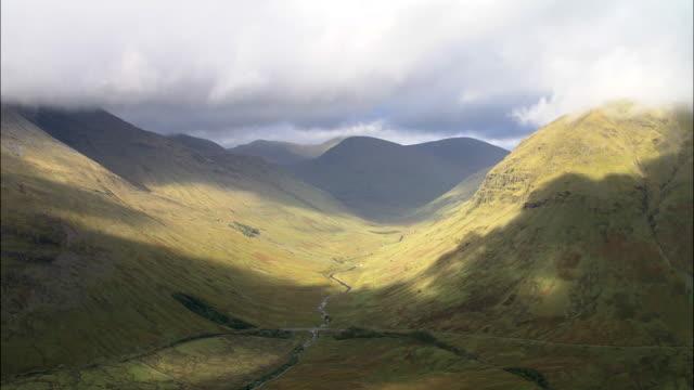 Grampian Mountains Near Tyndrum